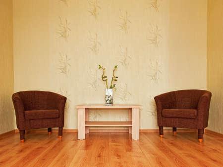 Modern living room interior photo