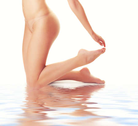 Beautiful female body Stock Photo - 5172028