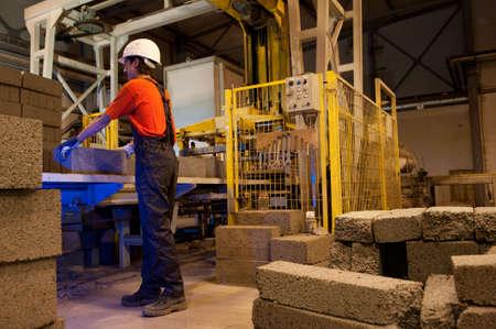 Factory loader at work     photo