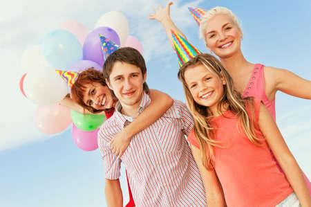 Happy friends Stock Photo - 5258350
