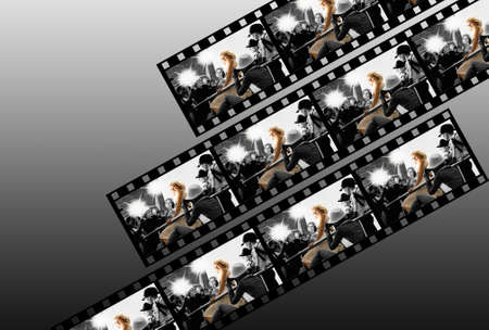 Filmstrip collage Stock Photo - 5505256