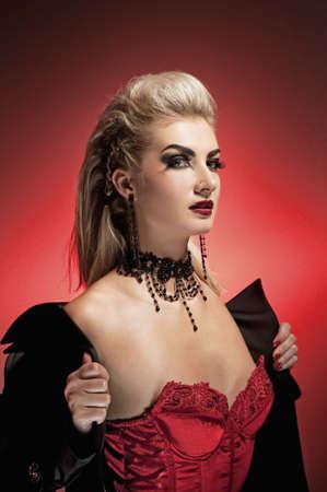 Vampire woman      photo