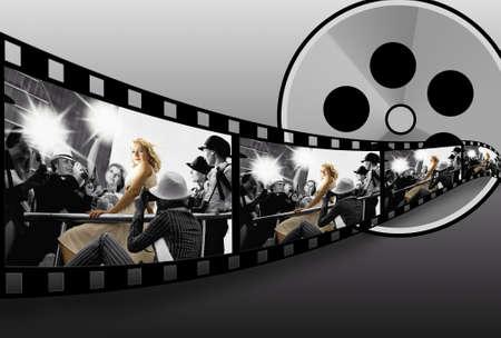 Filmstrip collage   photo