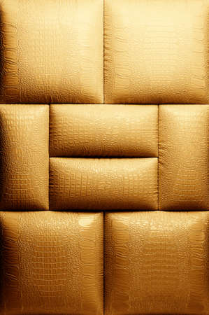 Sepia picture of genuine leather upholstery Stock Photo - 5773049