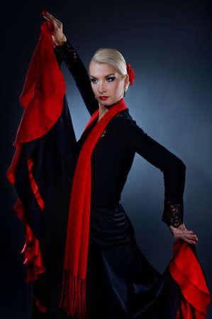 flamenca bailarina: Bailaora hermoso