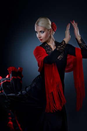 danseuse flamenco: Danseuse de flamenco belle