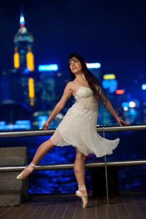 Beautiful ballet dancer outdoors   Stock Photo - 6051146