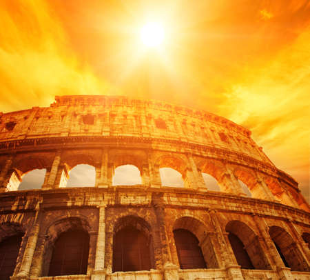 roman amphitheater: Colosseum (Rome, Italy)