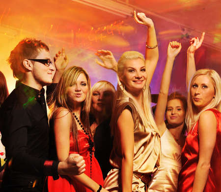 People dancing in the night club Stock Photo - 6453015