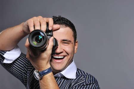 Photographer making a shot Stock Photo - 6724745
