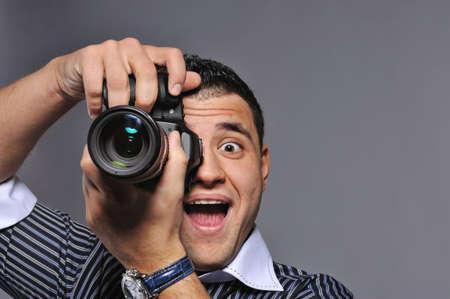 Photographer making a shot Stock Photo - 6724740