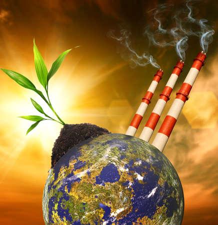 contaminacion aire: Contaminaci�n del planeta