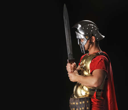 gladius: Legionary soldier with gladius