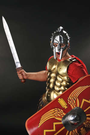 gladius: Legionary soldier ready for a war