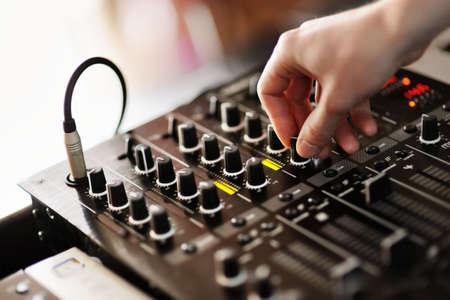 Dj mixer photo
