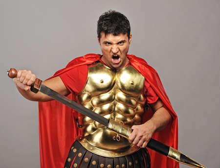 spartano: Legionario soldato pronto per una guerra