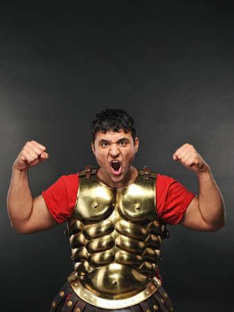 soldati romani: Soldato legionario, mostrando la sua forza