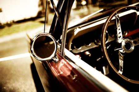 retro car fragment Stock Photo - 7154992