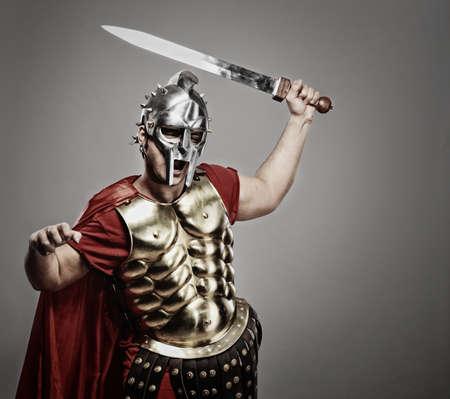 soldati romani: Legionario soldato pronto per una guerra