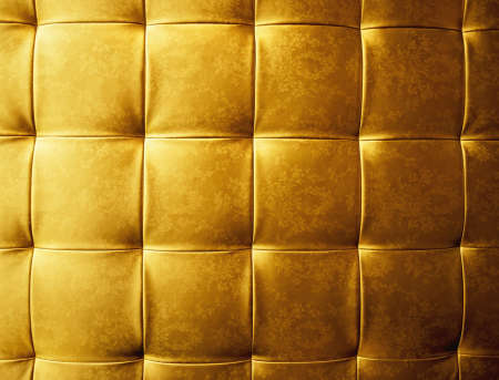 Abstract golden fabric texture