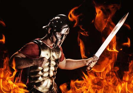 romano: Soldado Legionaria listo para una guerra