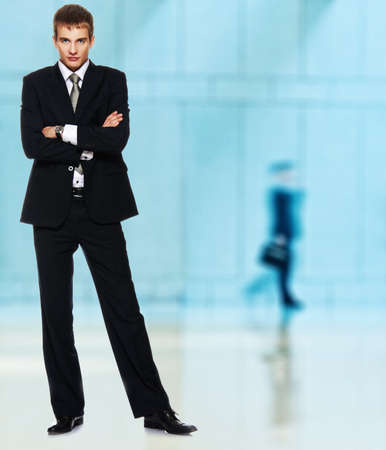 Young serious businessman Stock Photo - 8999145