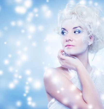 snow queen    photo