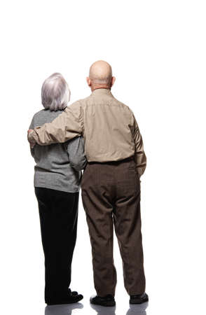 Picture of a senior couple Stock Photo - 9025770