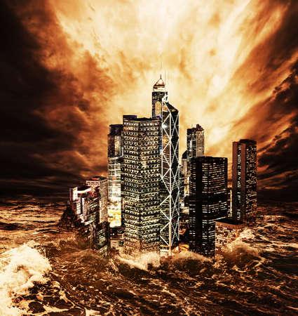 the end: Das Ende der Welt Lizenzfreie Bilder