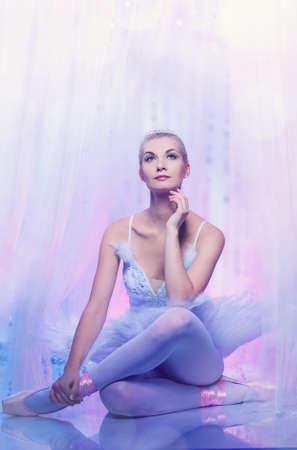 Beautiful ballet dancer Stock Photo - 9026925