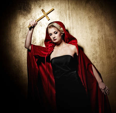 exorcism: Lady with a golden cross