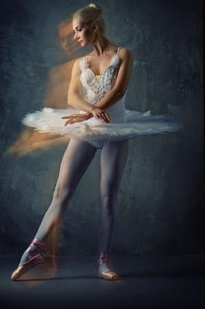 Beautiful ballet dancer Stock Photo - 9027195