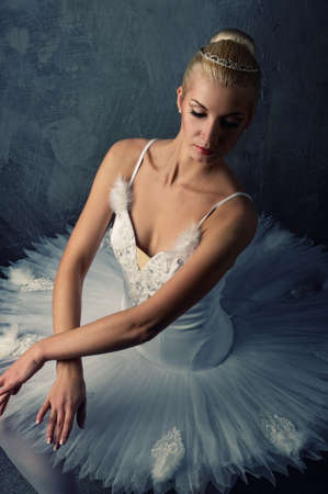 Beautiful ballet dancer Stock Photo - 9027325