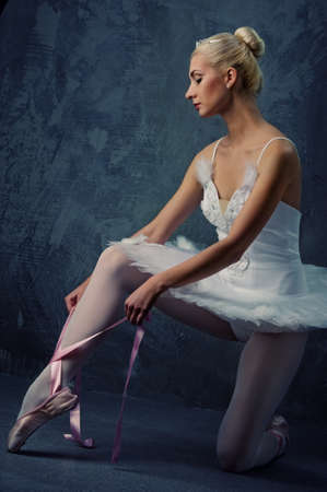 Beautiful ballet dancer Stock Photo - 9027321