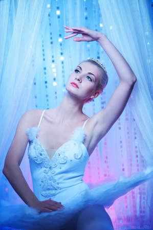 Beautiful ballet dancer Stock Photo - 9027262