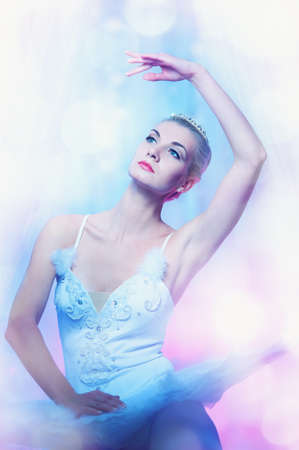 Beautiful ballet dancer Stock Photo - 9026923