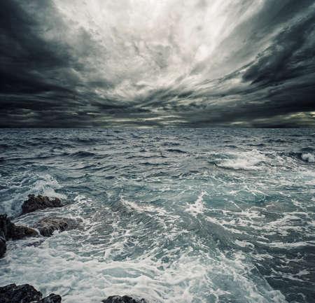 Ocean storm Stock Photo - 9027345