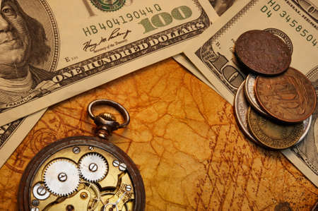 Time is money concept Stock Photo - 9102420