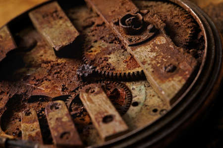 Close-up of an ancient gears Stock Photo - 9119122