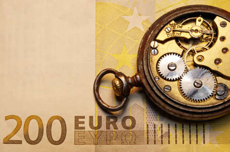 money time: Time is money concept Banque d'images