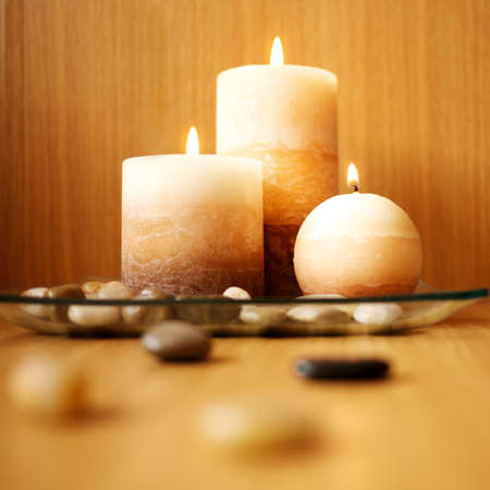 glowing candle: Beautiful candle design