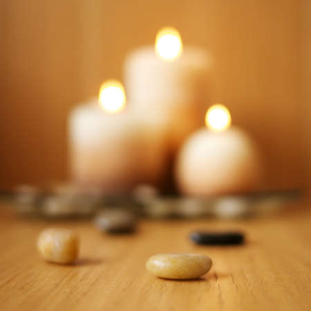 Blurred candles Stock Photo - 9116405