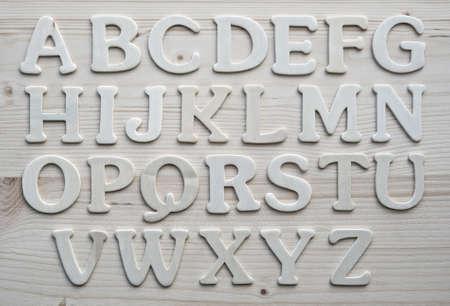 English alphabet background Stock Photo - 9206108