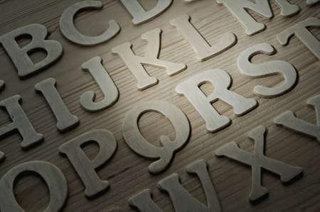 English alphabet background Stock Photo - 9206098