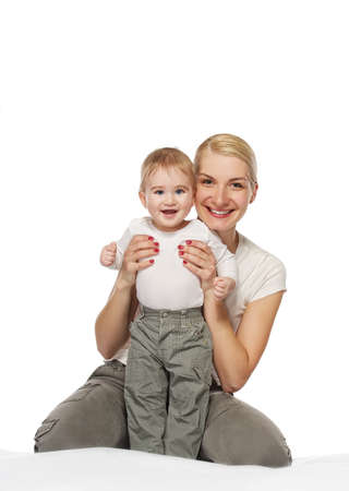 Mother with her adorable baby Stock Photo - 9206005