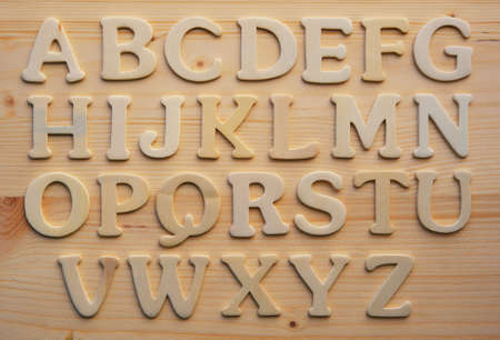 English alphabet background Stock Photo - 9206103