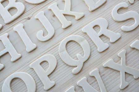 English alphabet background Stock Photo - 9252627