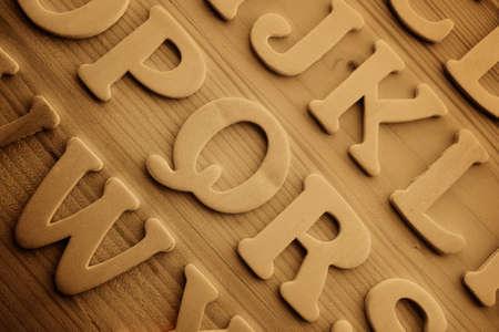 English alphabet background Stock Photo - 9252642