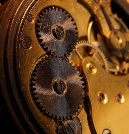 Close-up of a gears Stock Photo - 9363644