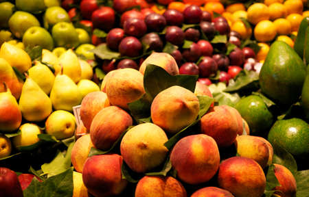 Fresh fruit market Stock Photo - 9363780